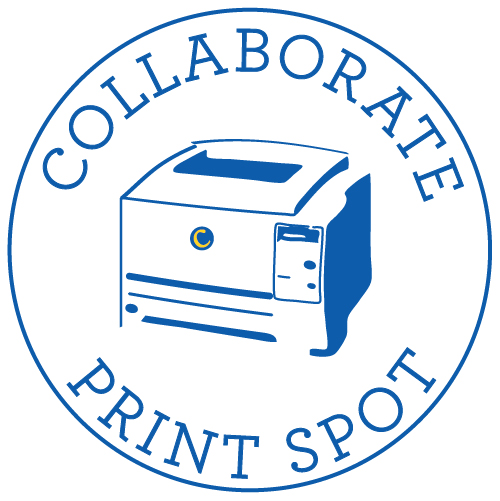 Collaborate PrintSpot Logo
